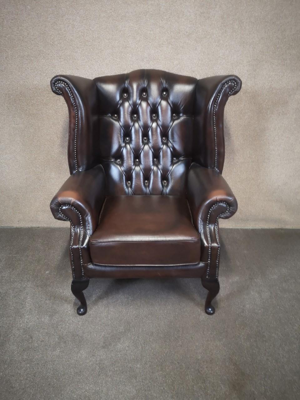 Chesterfield chair画像