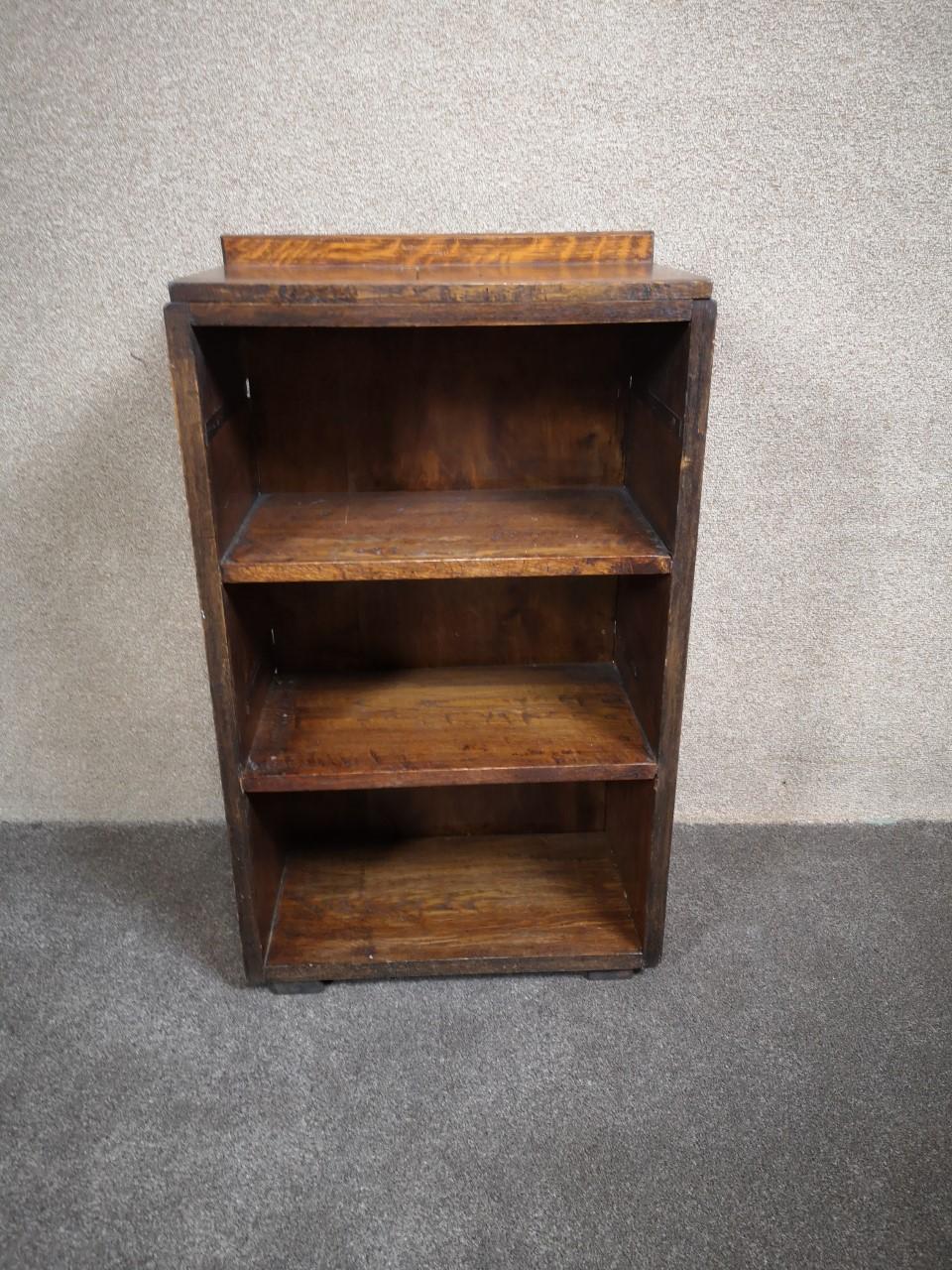Oak bookcase画像