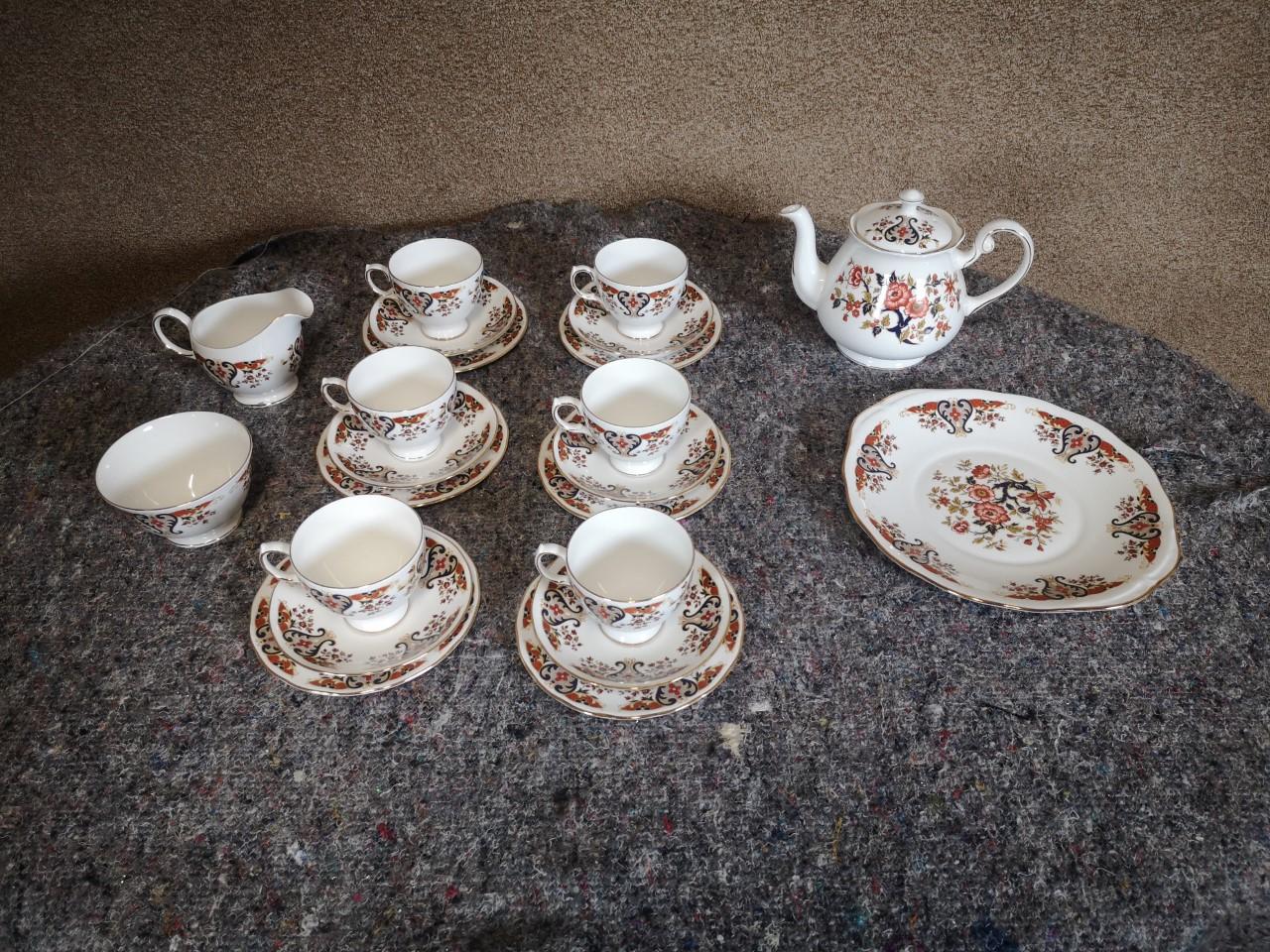22 piece tea set画像