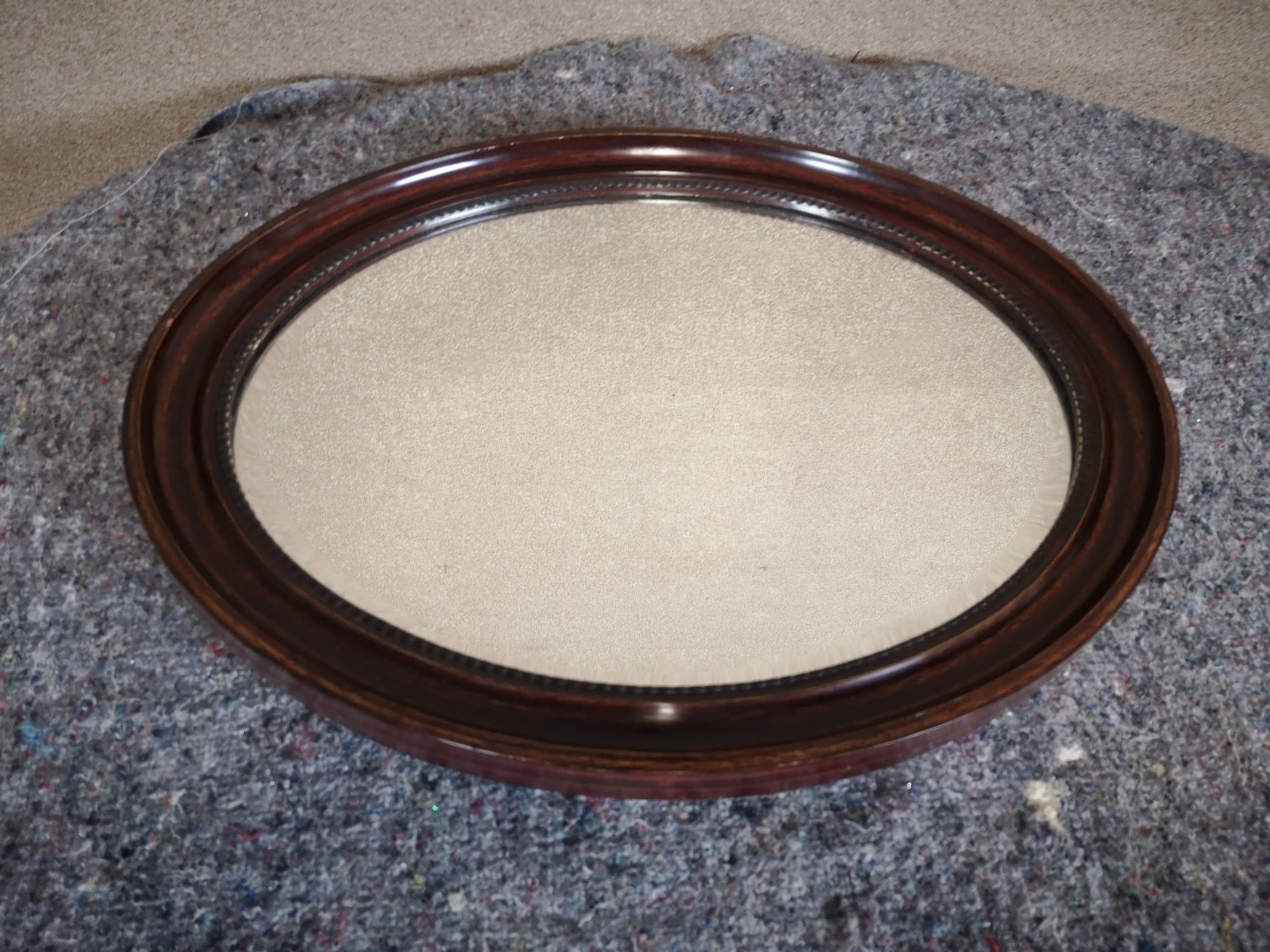 Oval mirror画像