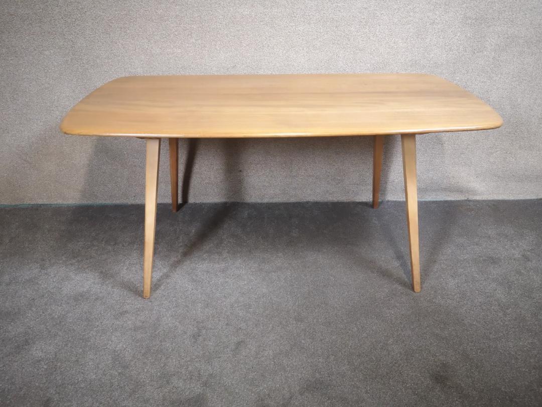 Ercol plank Table画像