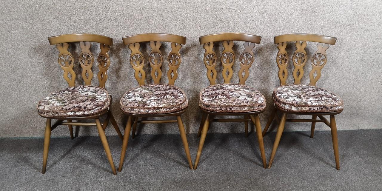 Ercol furniture (4chairs)画像
