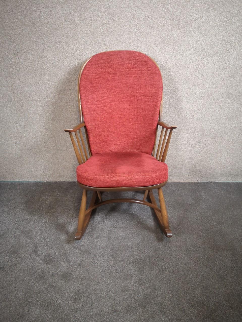 Ercol rocking chair画像