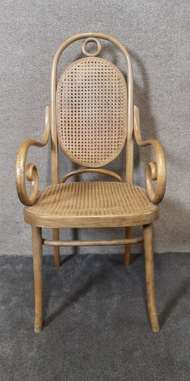 Bentwood armchair画像