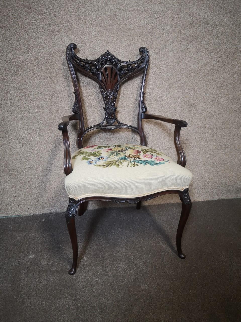 Edwardian chair画像