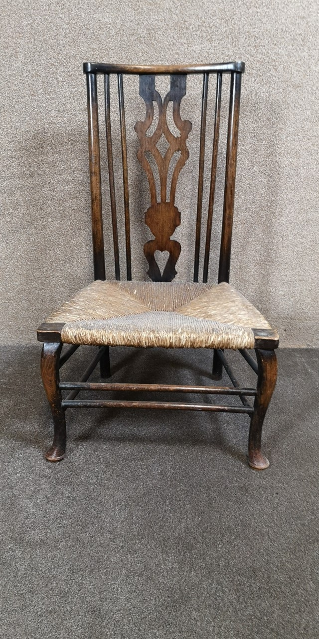Oak Country child's chair画像