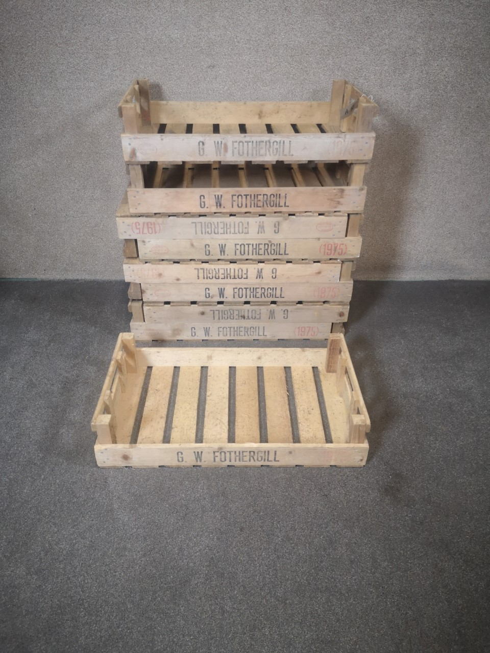 Potato crates画像