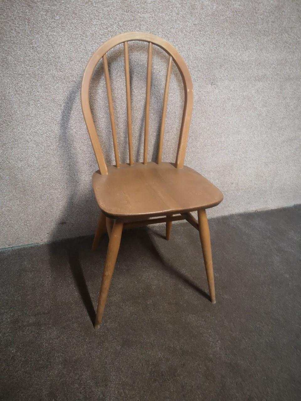 Ercol chair (windsor bow_light)画像