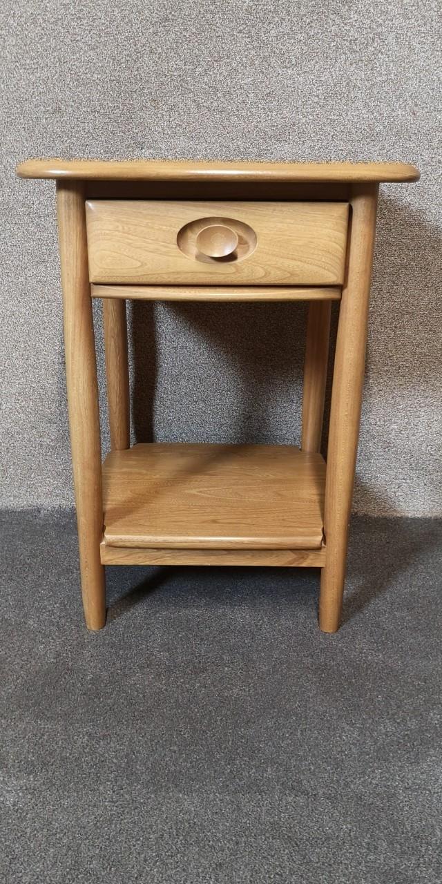 Ercol Windsor lamp table画像