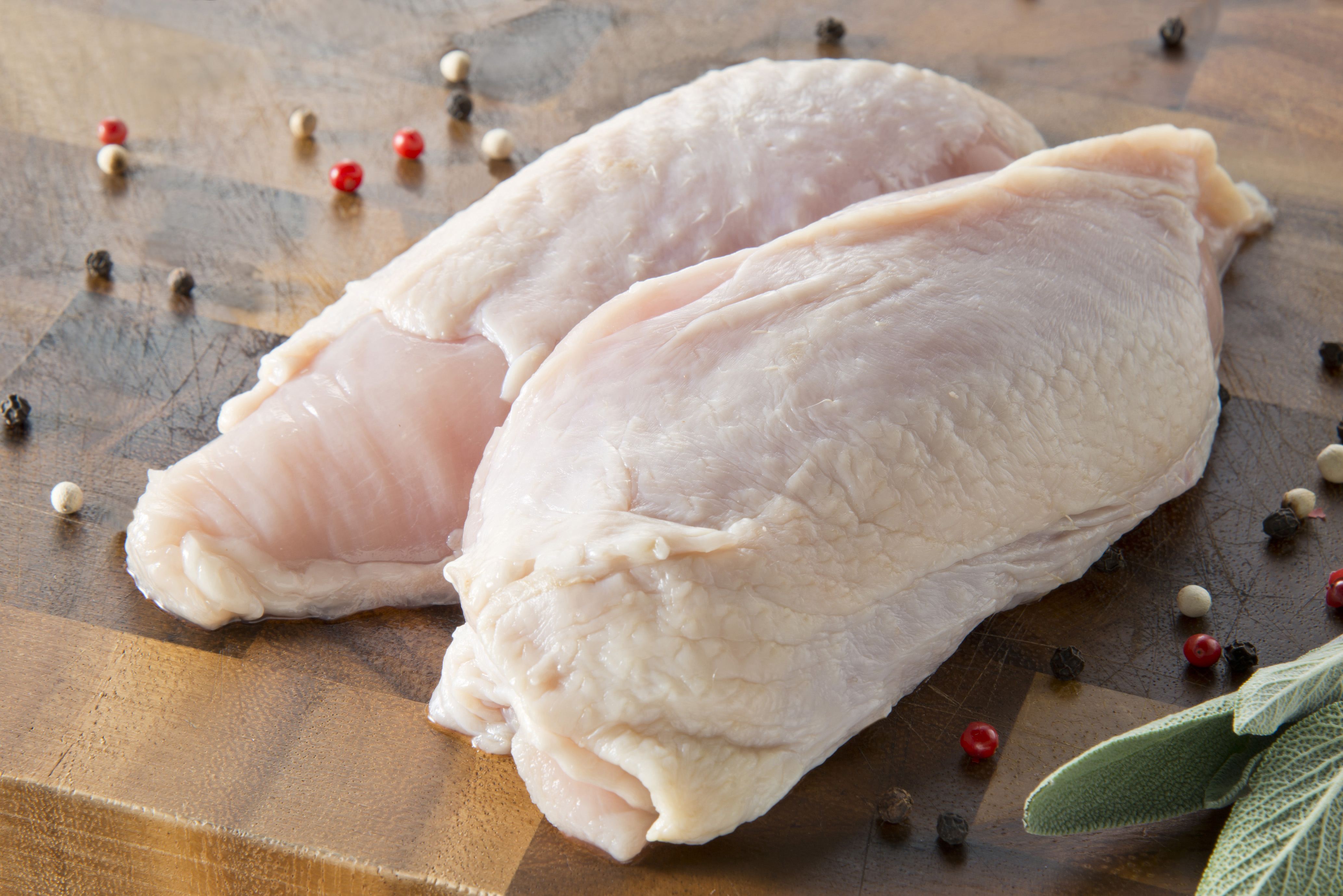 フリーレンジ ナチュラルチキン ムネ肉(ニュージーランド産)画像