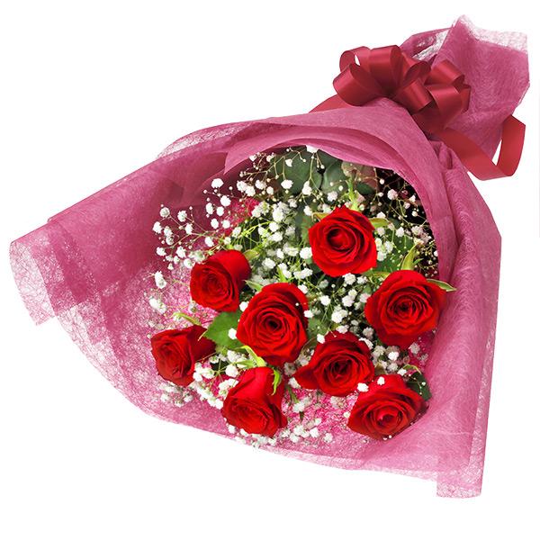 赤バラの花束 512194画像