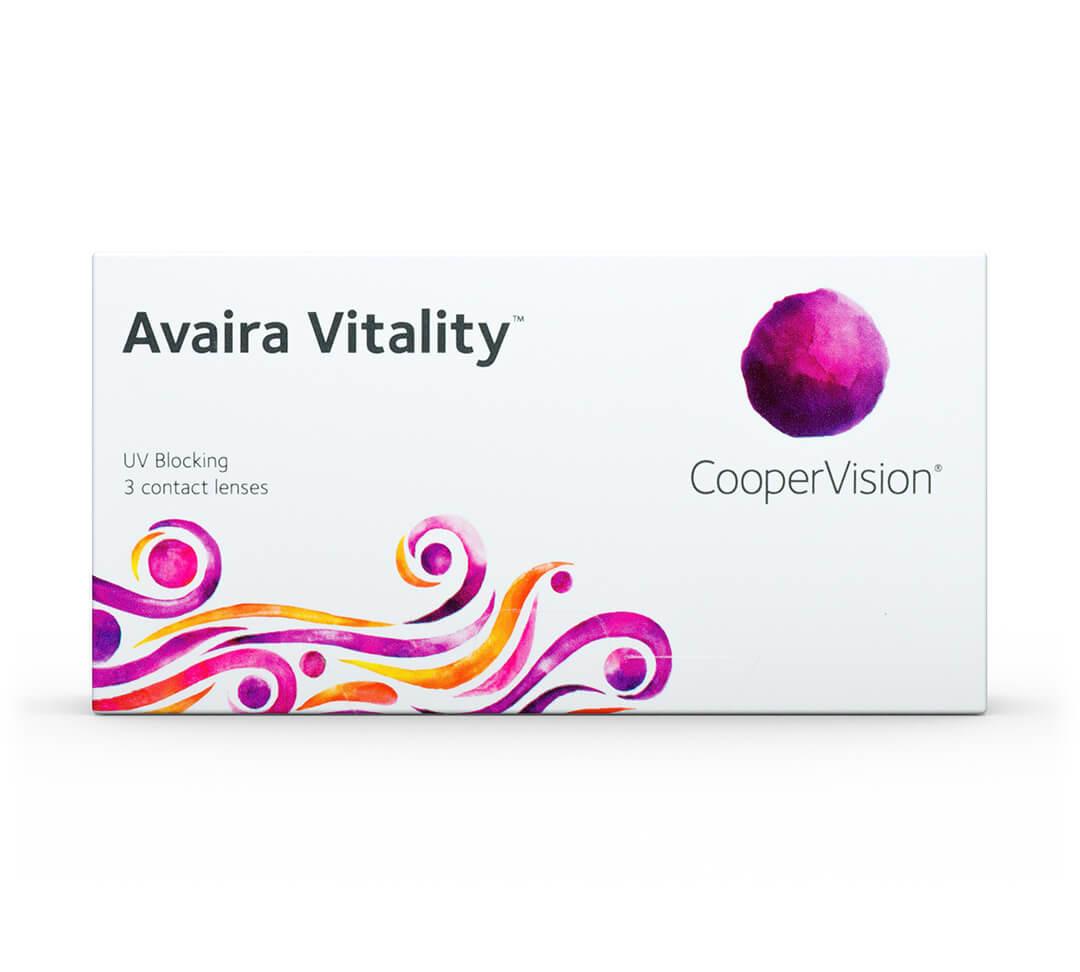 マイデイ (Avaira Vitality)  1箱3枚入 近視/遠視 日本未入荷画像