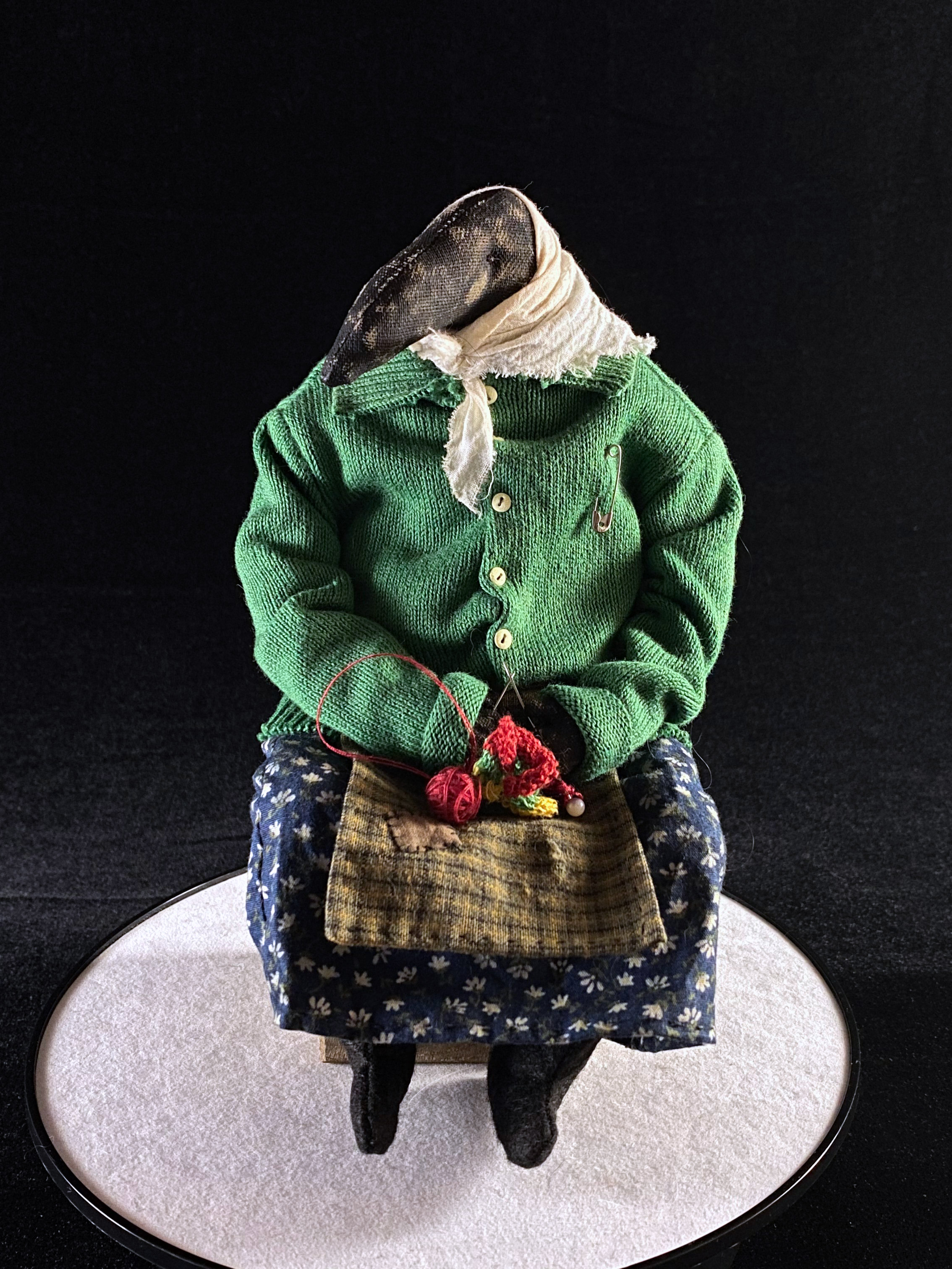 サイフィージノヴァ・イリーナ Textile heart「おばあちゃん」画像