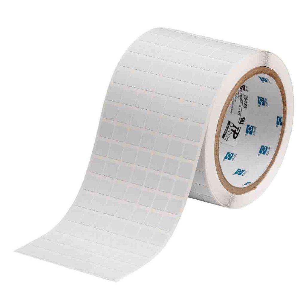 THT-38-719-10 静電気対策ラベル・耐熱ラベル 9.53X9.53mm つやなしの画像