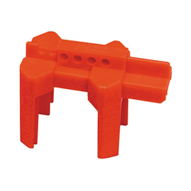 スモールプライジング ボールバルブロックアウト 赤色(適用パイプ経:12.7mmから63.5mm)1個の画像