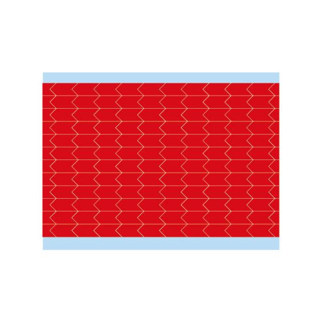 故障指示ラベル DIA-250-RD(25CDS/BX) 49346 赤 6.35x3.18mm  (f493461)の画像
