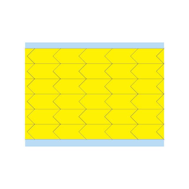 故障指示ラベル DIA-500-YL(25CDS/BX)  黄 12.7x6.35mm     (f493458)の画像