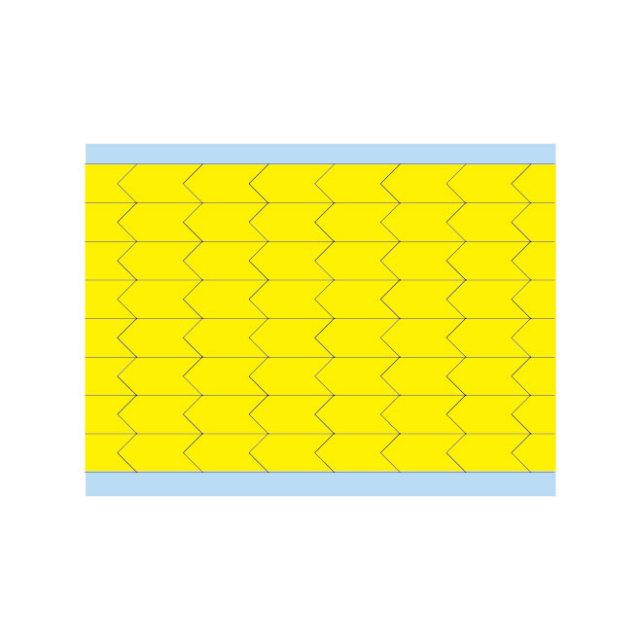 故障指示ラベル DIA-375-YL(25CDS/BX) 黄 9.53x4.75mm    (f493445)の画像
