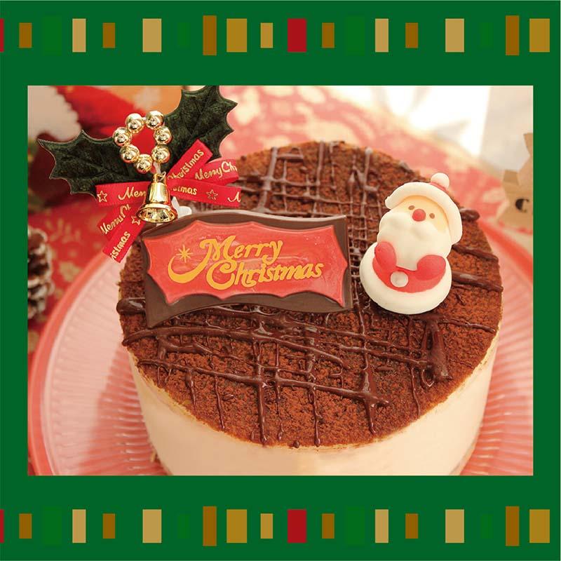 クリスマスティラミス(12㎝)の画像