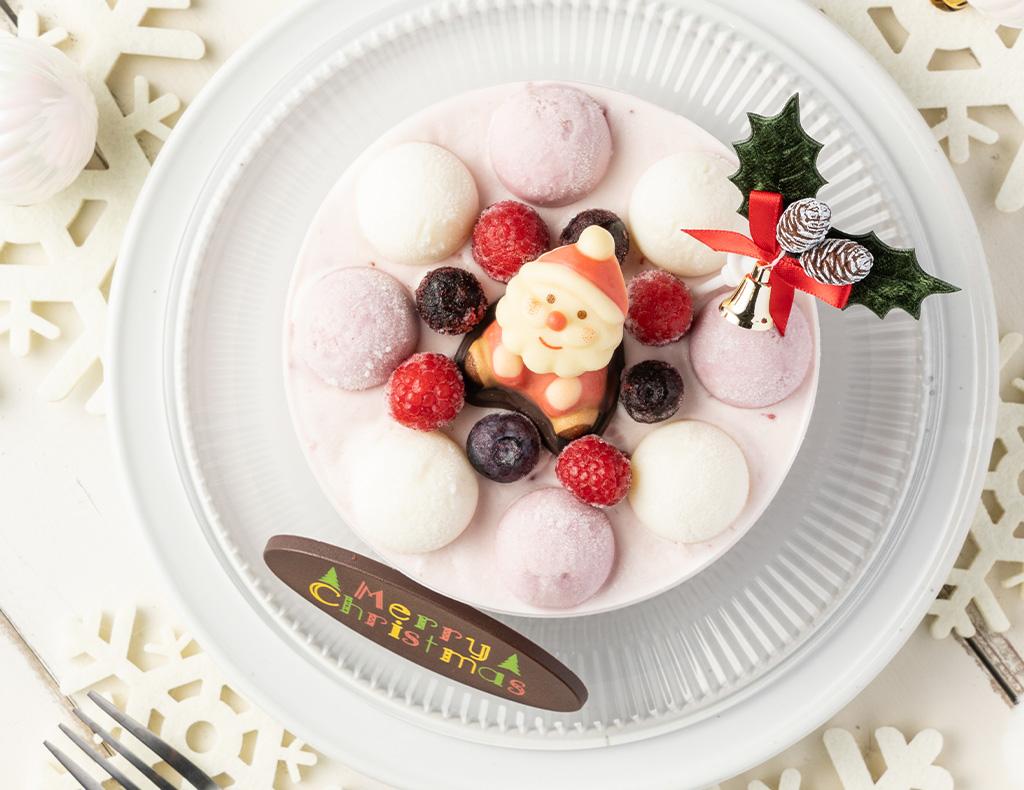 クリスマスイチゴミルク(12cm)※限定50セット画像