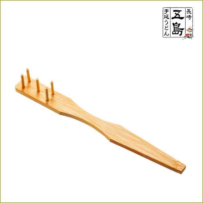 うどんすくい棒  麺喰い必須アイテム・五島のうどんの定番料理「地獄炊き」におススメの手作りのすくい棒画像