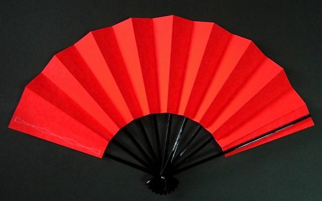 舞扇子 ネオン レッドの画像