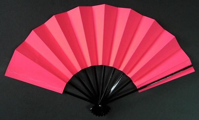舞扇子 ネオン ピンクの画像
