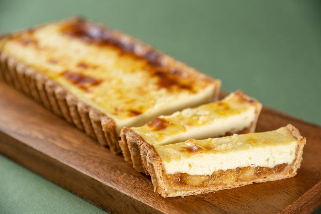 チーズケーキ(リンゴ)の画像