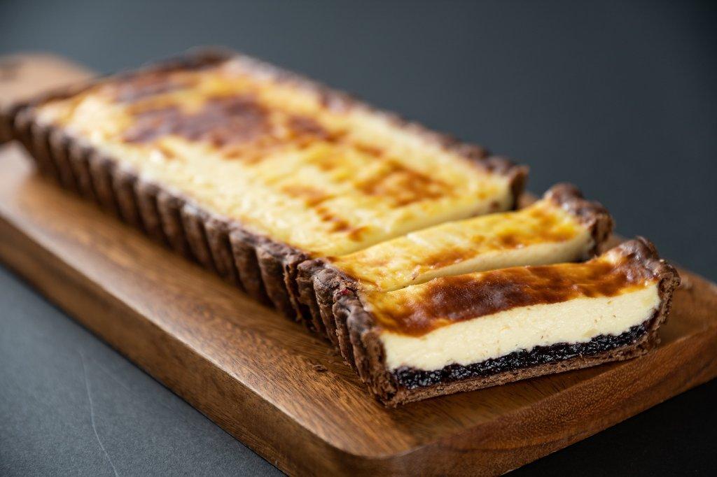 チーズケーキ(ブルーベリー)の画像