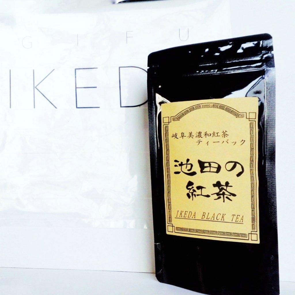 池田山麓から生まれた優しいほっこり。ストレートでもほんのり甘い和紅茶「美濃紅茶」ティーバッグ 10個入( 山三製茶)の画像