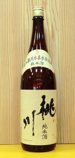 桃川 純米酒 1.8Lの画像