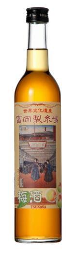 富岡製糸場 司 梅酒 11度 500の画像