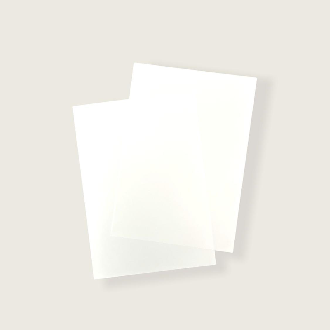 ユポ紙 : A5サイズ10枚セット画像