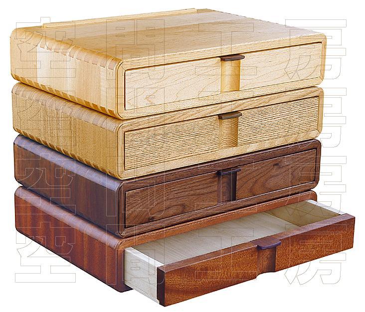 和家具職人がつくる、こだわりの小引き出し (A4サイズ,国産品)の画像