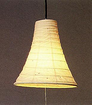 現代感覚溢れた美濃和紙製ペンダントライト (Eタイプ,国産品)の画像