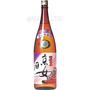 酒呑童子 本醸造 甘口京女 【1800ml】の画像