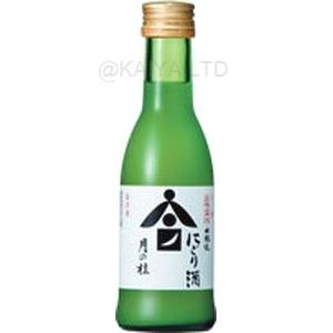 月の桂 本醸造にごり アロマ瓶 【180ml】×1函(24本)の画像