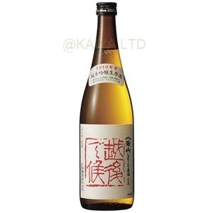 2016年発売分_八海山 純米吟醸しぼりたて生原酒「越後で候・赤ラベル」【720ml】の画像