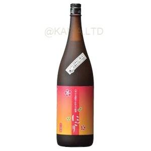 八海山の焼酎で仕込んだ「にごり梅酒」1800mlの画像