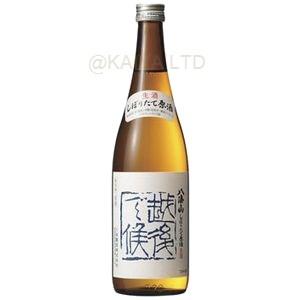 八海山 しぼりたて原酒(普通酒)「越後で候・青越後」【720ml】画像