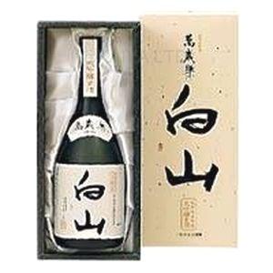 萬歳楽 大吟醸古酒 白山 【720ml】×6本【取り寄せ品】の画像