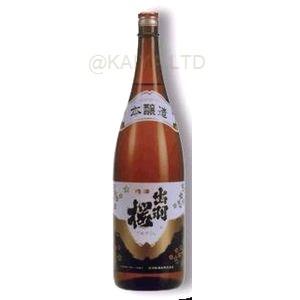 出羽桜・本醸造 (火入)【1800ml】の画像