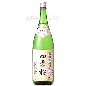 四季桜 特別純米酒「はなのえん」生酒【1800ml】の画像