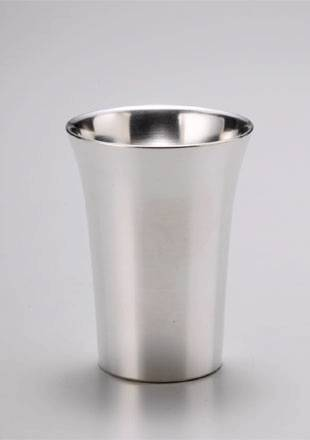 ぐい呑 冷酒/大阪錫器の画像