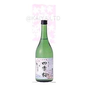 四季桜・特別本醸造酒「はつはな」 【720ml】×1函(12本)の画像