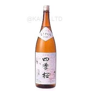 四季桜・特別本醸造酒「はつはな」 【1800ml】×1函(6本)の画像