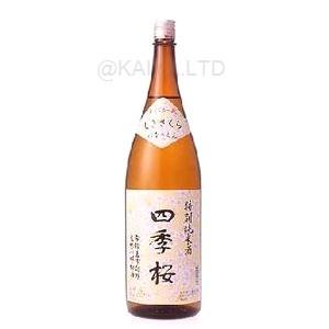 四季桜「花の宴」 特別純米酒 【1800ml】の画像