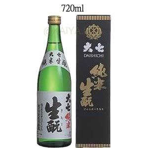 大七(だいしち)純米生もと 15度 【720ml】の画像