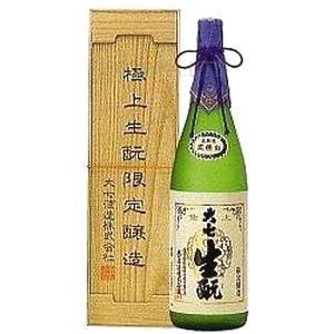 大七 極上生もと限定醸造(本醸造)桐箱入り【1800ml】の画像