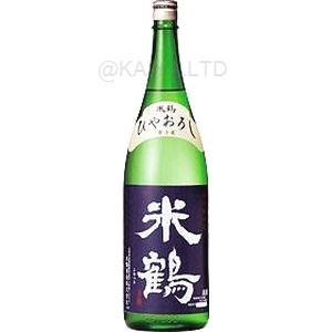 米鶴 『特別純米原酒 ひやおろし』 【720ml】×1函(6本)画像